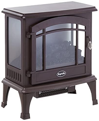 Comfort Glow EQS5147 Sanibel 3-Sided Infrared Quartz Electric Stove Bronze Finish