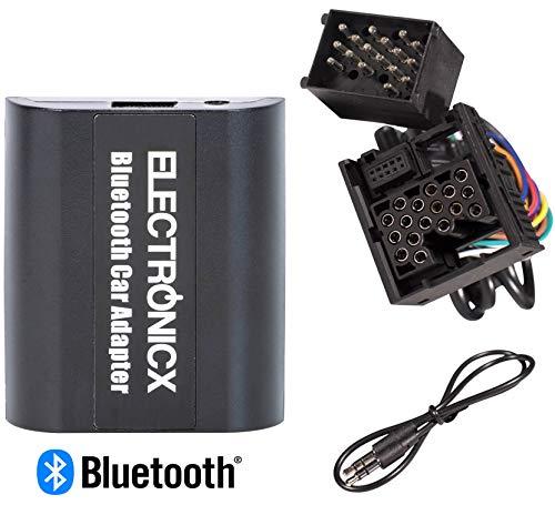 Electronicx Adaptador de Radio para Coche Auto Carro Manos Libres Bluetooth Controlador...