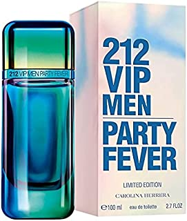 212 VIP Men Party Fever By Carolina Herrera Eau De Toilette For Men - 100 Ml