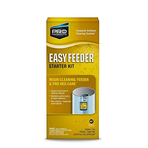 Pro Products ResCare RK11K Easy Feeder Starter Kit, Non-Electric System, Extends Life of Water Softener