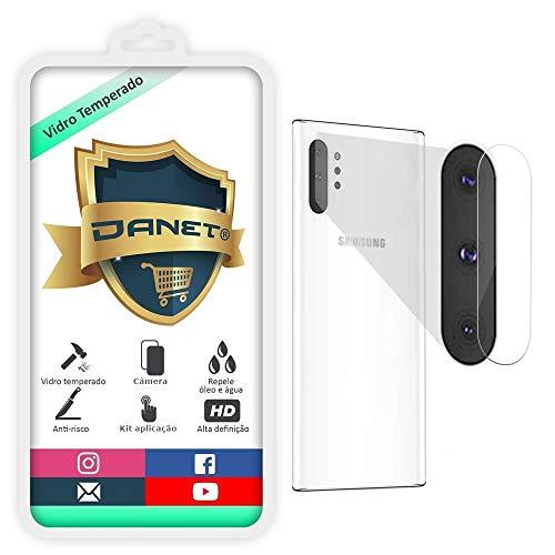 Película De Vidro Temperado Para Câmera Samsung Galaxy Note 10 Note 10+ Plus Proteção Da Lente Blindada Anti Impacto Top Premium - Danet