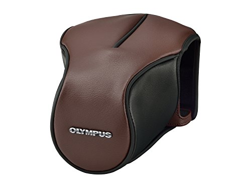 Olympus CS-46FBC - Funda para cámara Reflex OM-D E-M5 Mark II, Color marrón
