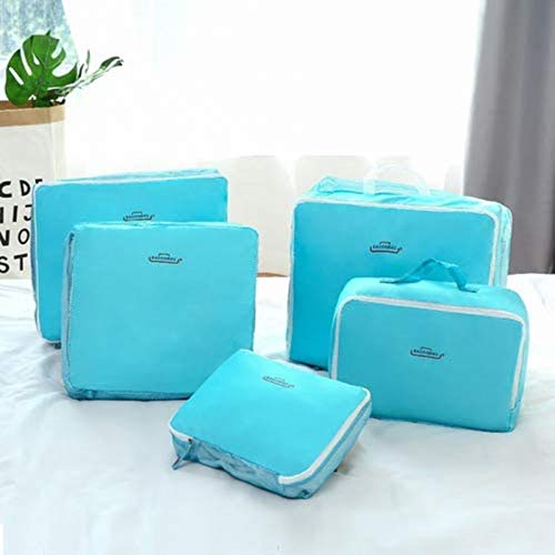 Adjustable Shoe Slot Organizer Shoe Rack 5Pcs Packing Bags Cubes Travel Essential Compression Pouches Bags Cubes Luggage Storage Luggage Storage Clothes Shoes Toiletry Organizer Space-saving shoe hold