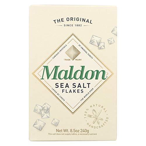 Maldon Cristal de Sal Maldon Crystal Co B24720 Sal Co Sea original Escamas de Sal-12x8.5 Oz