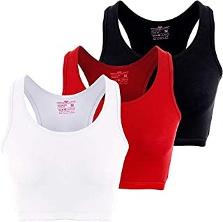 Solid Bra for Women, Set of 3