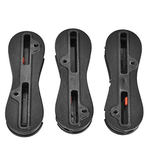 DAUERHAFT Plástico Adecuado para Sistemas de Control de Aletas de la Segunda Serie Juego de Tapones de Surf fácil de operar, para Surf