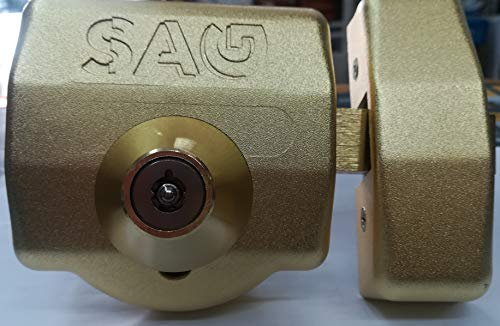 cerrojo SAG CSI-DB latonado AACP0042
