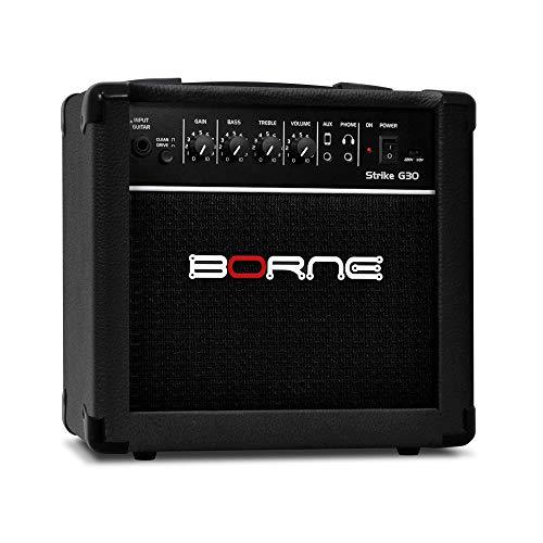 Amplificador Cubo para Guitarra Strike g30 15w - Preto Borne