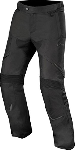 Alpinestars Men's Hyper Drystar Motorcycle Riding Pant, Black, Medium