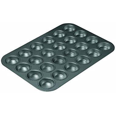 Chicago Metallic Professional 24-Cup Non-Stick Mini-Muffin Pan, 15.75-Inch-by-11-Inch