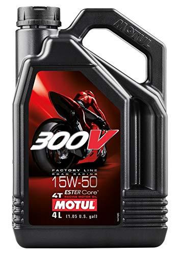 MOTUL 300 V 4T 4-TAKT Factory Line Ester Core Motoröl ÖL 15W50 Motorrad 4 Liter