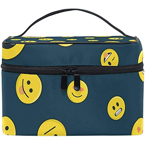 Emoticon reistas reistas naadloos design make-up tas multifunctionele tas