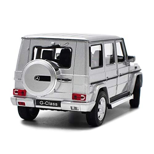 hclshops Escala 1/24 Gran Mercedes-Benz Clase G Vehículo Todoterreno Modelo de automóvil Fundido a Troquel - Simulación de aleación Modelo de Juguete Decoración de Juguete