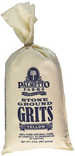 PALMETTO FARMS Stone Ground Yellow Grits, 32 OZ
