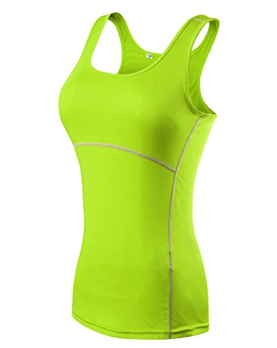 ZKOO Femme Casual T-Shirts et Tops de Sport Gilet...