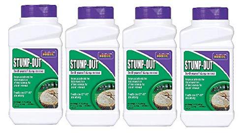 Bonide 272 1-Pound Granules Stump-Out, 4 Pack