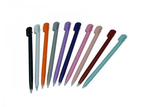 Handycop® Ersatzstift Stifte für Nintendo DS Lite & Wii U Gamepad aus Kunststoff - Set (10 Stück Stift)