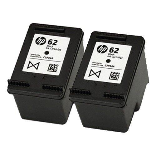 HP 62 - Cartucho de tinta original (2 unidades), color negro: Amazon.es: Bricolaje y herramientas