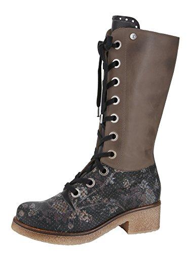 dkode Damen Schuhe Leder Stiefel Stiefeletten Lederstiefel Braun Schwarz : EUR 39 Schuhgröße EUR 39