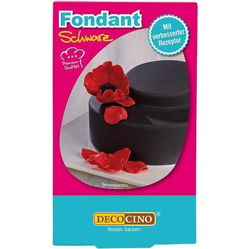 Dekoback Rollfondant schwarz, 1-er Pack (1 x 250 g)