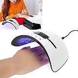 36W Secador de Uñas, Lámpara de Uñas LED UV con Sensor Inteligente
