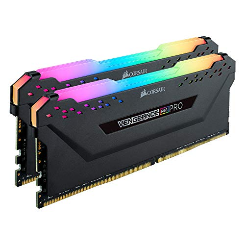 Corsair Vengeance RGB Pro 64GB (2x32GB) DDR4 3200 (PC4-25600) C16 Desktop Memory – zwart