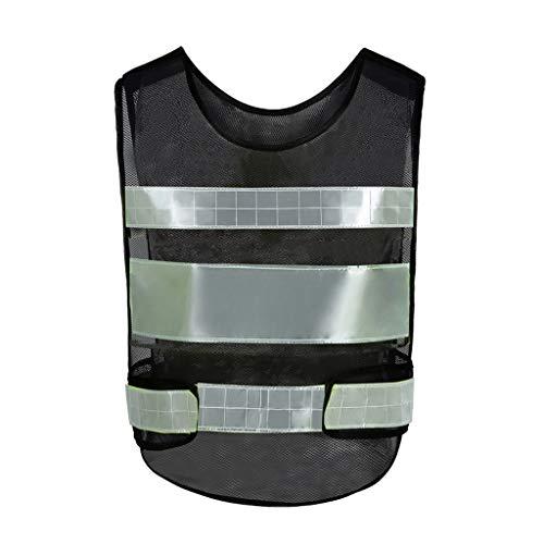 Reflecterende Veiligheid Vest Ademende Mesh Werk Kleding Reizen Bij Nachtbeveiliging Hoge Zichtbaarheid Waistcoat Liuyu.