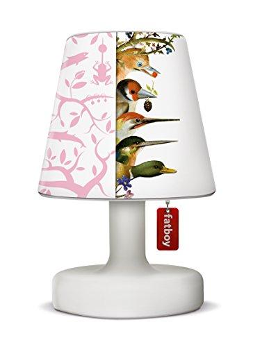 Fatboy Edison The Petit Tischlampe mit Fatboy Lampenschirm Cooper Cappie LTD. Pink Tjilp Delight - perfekte Akku LED Leuchte für den In- und Outdoor Bereich
