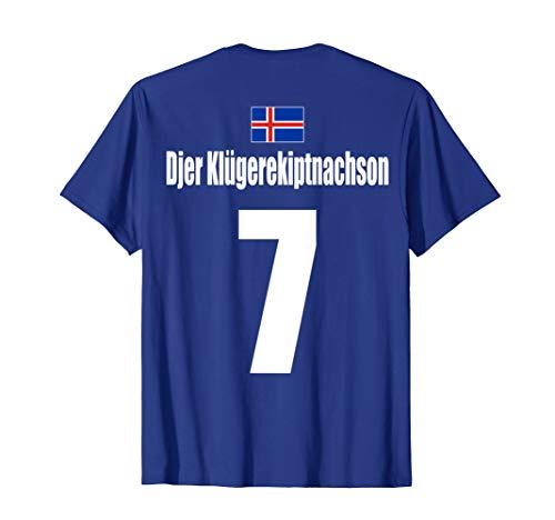 Herren Malle Bulgarien Party Urlaub Mannschaft - Island Sauf Trikot T-Shirt