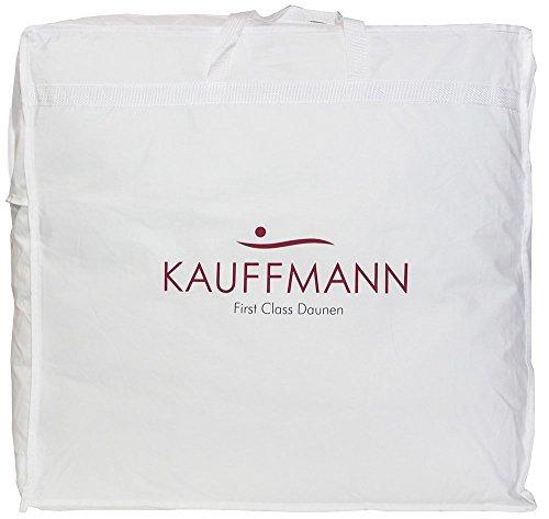 Kauffmann Sleepwell GmbH Gänsedaunen - 100% Daunen - Modell Raphaello New 650***- Doppelbett Größe 250 x 200 cm - 100% Daunendecke Polen Klasse 1