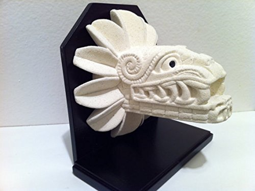 New Handmade Large Quetzalcoatl Statue Modern Art Aztec