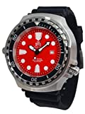 Taucher T0334 - Reloj de buceo (tamaño XL, cristal de zafiro, 52 mm)