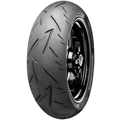 150/70ZR-17 (69W) Continental ContiRoad Attack 2 Hypersport Touring Radial Rear Motorcycle Tire for Honda RC31 NT650 Hawk GT 1988-1991