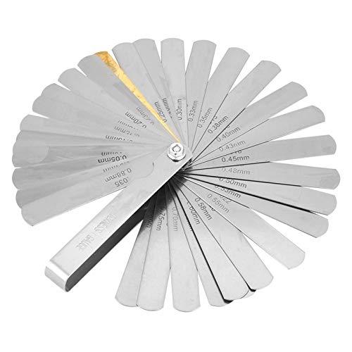 Nauwkeurige 0,04-0,88 mm afstandsmeter, voelermaat, voor handwerk, voor het meten van de tussenruimte, met eenvoudige structuur