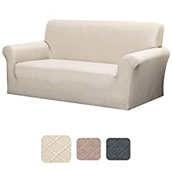 JuneJour Sofabezug L-Form Sofa /Überw/ürfe Stretch Elastische Sofahusse Sofa Abdeckung Elastische Stretch 1+1 Sitzer