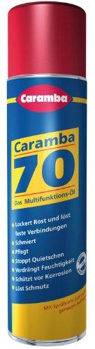 CARAMBA 600604012 70 Multifunktionsöl 400 ml - 5 Spezialprodukte in Einem: Rostlöser,Schmiermittel,Kontaktspray,Korrosionsschutz,Teile-Reiniger - vom Hersteller eingestellt