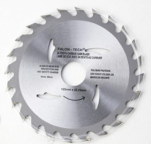 125 mm 24 Zähne Kreissägeblatt für...