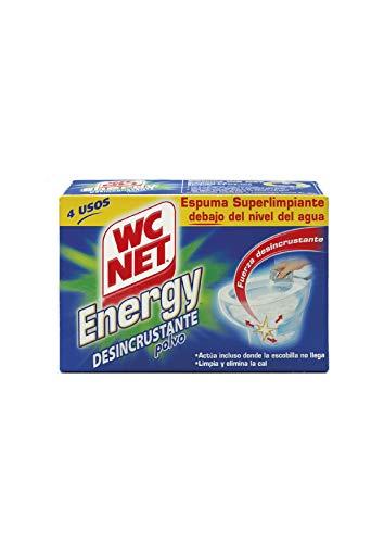 Wc Net Energy Polvo - Desincr. Clp 4 x 60 g - [Pack de 12]