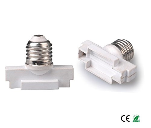 E-Simpo 5-pack E27 to G53 Adapter,E27 to G53 Lamp Base Converter, Z1081