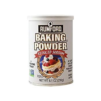 Rumford Reduced Sodium Baking Powder 8.1 Ounce