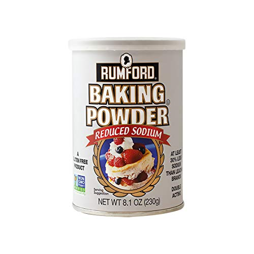 Rumford Reduced Sodium Baking Powder 8.1 Ounce