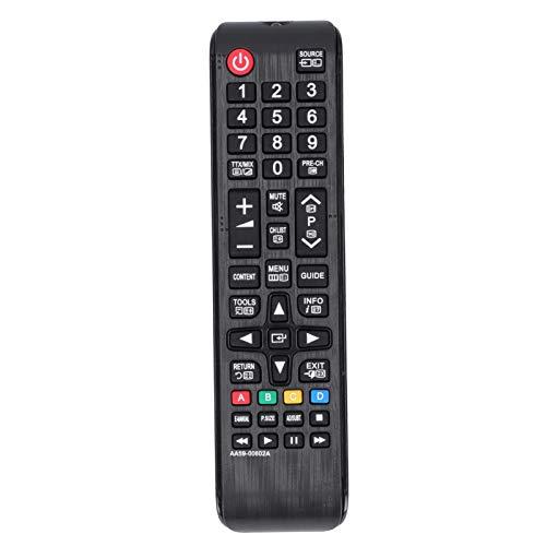 Xuzuyic Dispositivo de Control Remoto Controlador de TV, Material de botón de Silicona ABS +, operación Simple, Adecuado para televisores LCD LED Samsung AA59‑00602A.