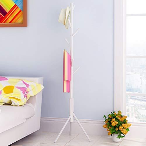 XQAQX kledingrek, kapstok, kapstok, hoed, handtas, kledingstang om op te hangen, takken, verstelbaar, voor slaapkamer, 46 x 168 cm