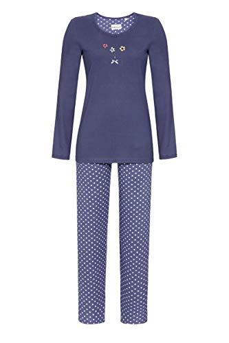 Ringella Damen Pyjama mit Motivdruck Night Shadow 48 0511201, Night Shadow, 48