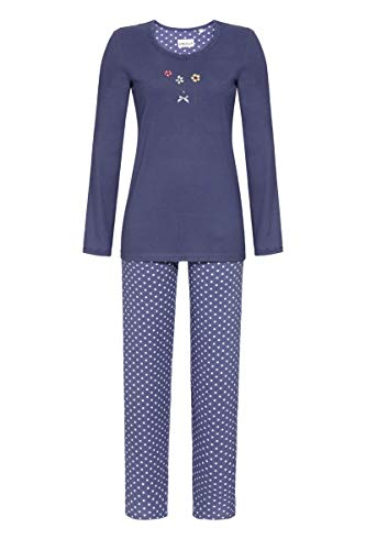Ringella Damen Pyjama mit Motivdruck Night Shadow 48 0511201, Night Shadow, 48