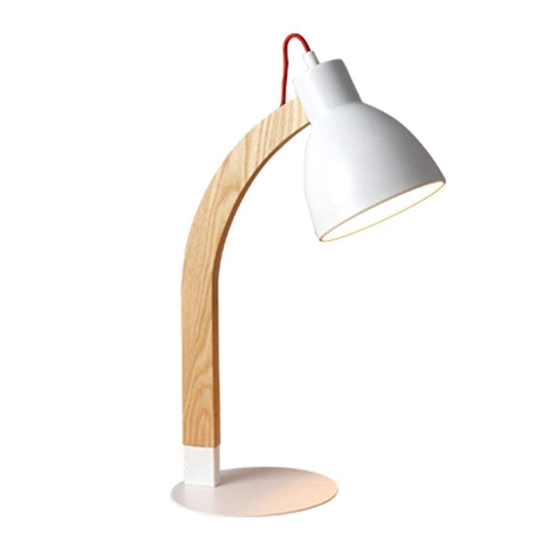 能力乱れ記録デスクランプランプ室内照明ベッドサイドデスクランプテーブルランプベッドルームベッドサイドスタディソリッドウッド製テーブルランプLEDアイデコレーションデスクランプ
