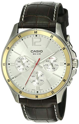 Casio Enticer Chronograph White Dial Men's Watch -...