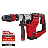 Einhell Abbruchhammer TE-DH 12 (1.050 W, Schlagzahl 4.100 U/min, 12 Joule, SDS-max-Werkzeugaufnahme, inkl. Spitz- und Flachmeißel, inkl. E-Box)
