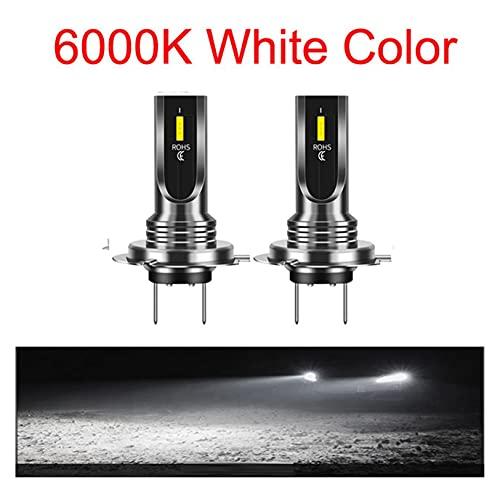 Bombillas automotrices H4 H7 LED Cariño del coche Bombillas 1860 Chips 20000LM 6500K 4500K H1 H3 H11 H13 9004 9005 9006 HB3 HB4 Auto FOG Lights para coches, camiones, SUV (Emitting Color : 6000K)