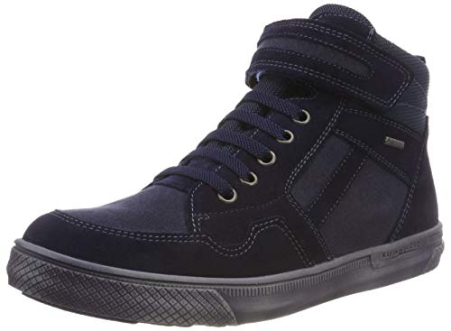 Superfit Jungen Luke Hohe Sneaker, Blau (Blau/Blau 80), 40 EU